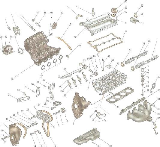 шевроле круз 1.6 топливная система схема