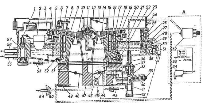 Схема карбюратора К151 / К151Д
