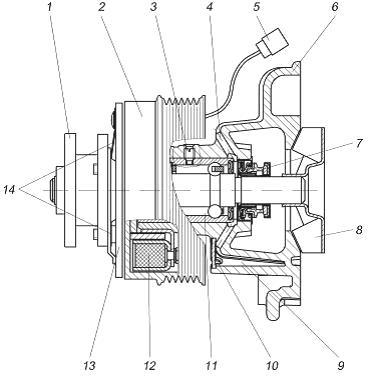 Водяной насос ЗМЗ-405
