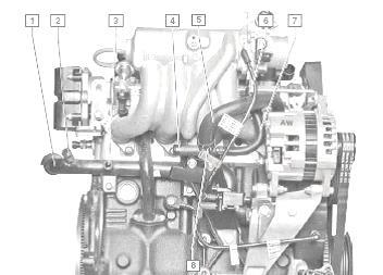 Система охлаждения шевроле ланос 1.5