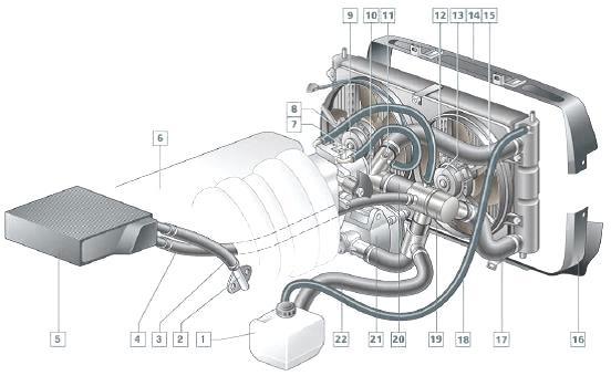 Система охлаждения Шевроле