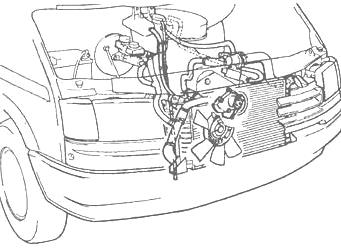 вся система охолождения форд транзита