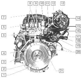 Двигатель на шевроле лачетти 1.6