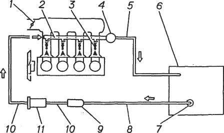 Схема топливной системы газель фото 877