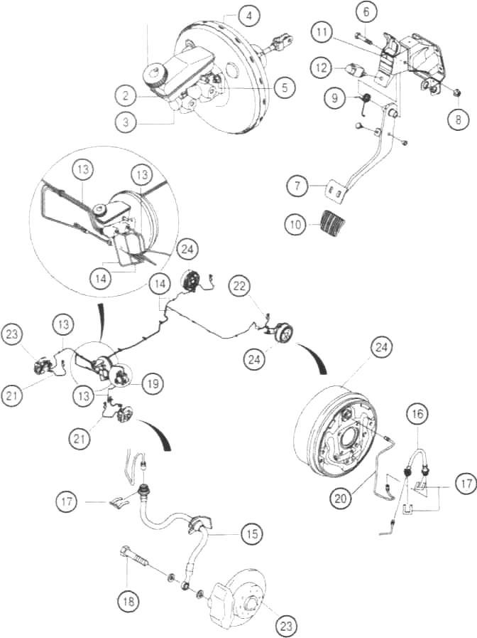 Тормозная система автомобилей