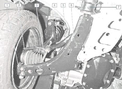 26 Chevrolet Lanos - Устройство передней стойки ланос