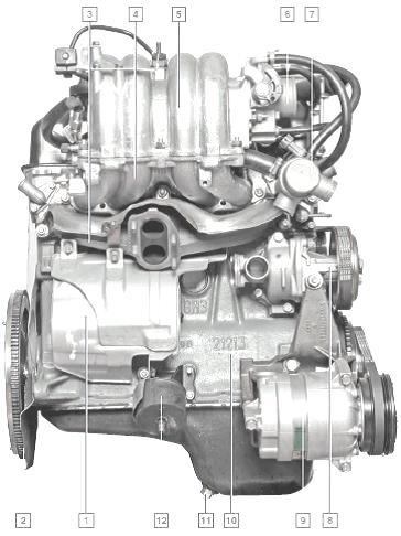 Chevrolet Niva | Приложение: Моменты затяжки резьбовых соединений | Шевроле Нива