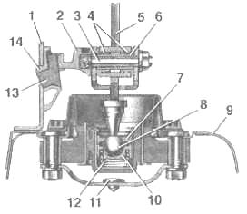 Фото №6 - регулировка рычага переключения передач ВАЗ 2110